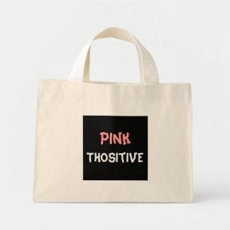 Pink Thositive Canvas Bag