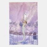 Pink Tides Mermaid Towel