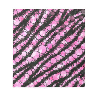 Pink Tiger Bling Note Pads