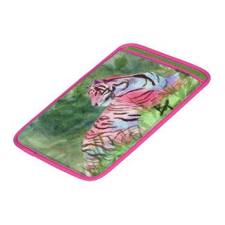 Pink Tiger MacBook Sleeve