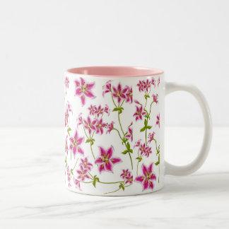 Pink Tiger Lily Mug