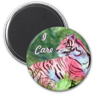 Pink Tiger Magnet
