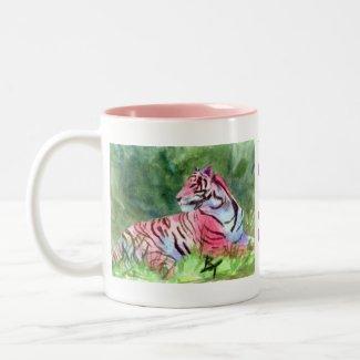 Pink Tiger Mug mug