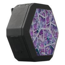 Pink Tiger Repeat Collage Black Bluetooth Speaker