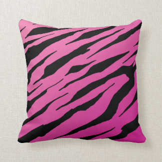 Pink Tiger Stripe Pillows