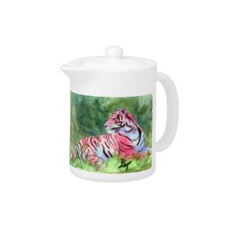 Pink Tiger Teapot