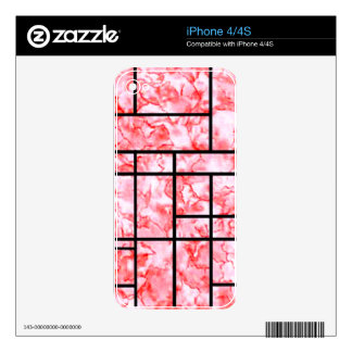 pink tile skins for the iPhone 4
