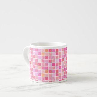 Pink Tiles Espresso Cup