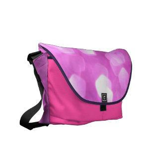 """""""pink time to feel good"""" - Messenger Bag"""