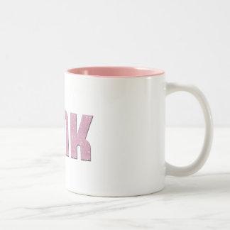 Pink Tink Mug - Hearts & Stars