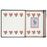 Pink-Tipped Carnations iPad Cases