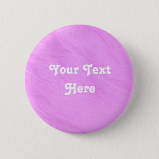 Pink Tissue Paper Button | Customize | Personalize