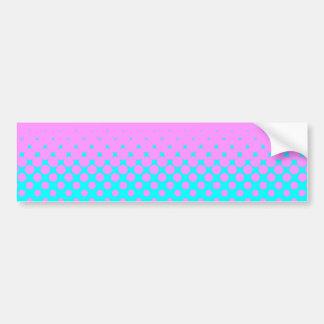 Pink to Blue Bumper Sticker