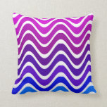 pink to blue zigzag pillows