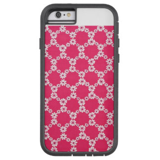 pink to flower tough xtreme iPhone 6 case