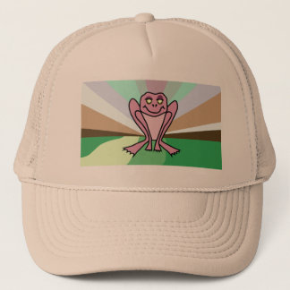 Pink Toad Hat