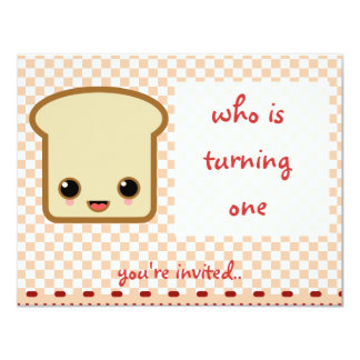 pink toast invitation birthday party