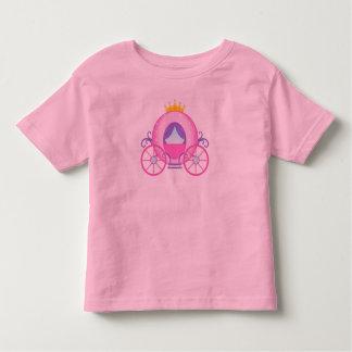 Pink Toddler Princess Carriage Shirt