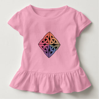 Pink Toddler's Celtic Diamond Knot Shirt