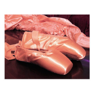 Pink Toe Shoes Photo Postcard