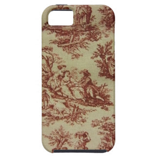 Pink Toile iPhone SE/5/5s Case