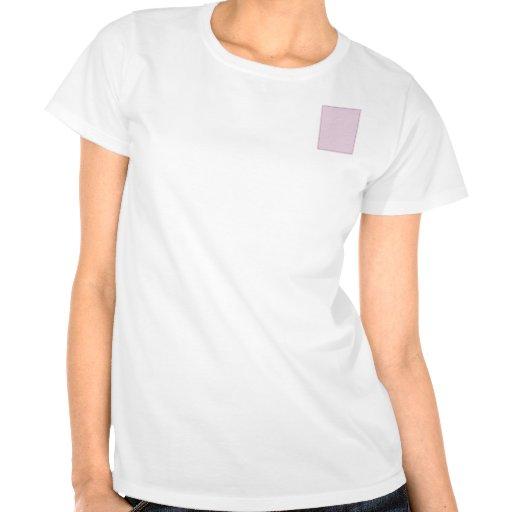 Pink Tone on Tone Hibiscus T Shirt
