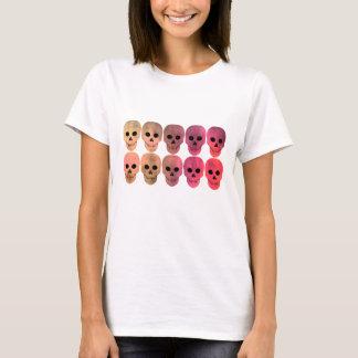 Pink toned skulls T-Shirt
