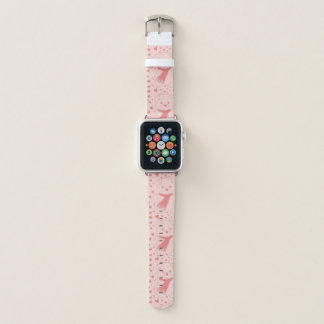 Pink Toned Teddy Bear Apple Watch Band