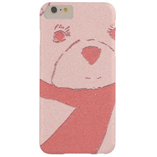 pink toned teddy bear barely there iPhone 6 plus case