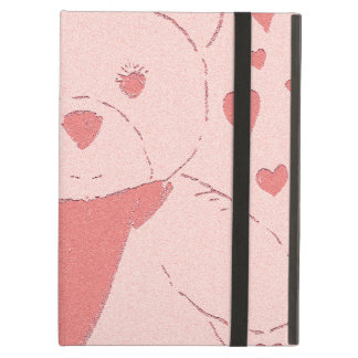 Pink Toned Teddy Bear iPad Air Case