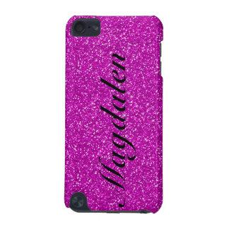 Pink Tones Glitter Custom Monogram iPod Touch 5G Case