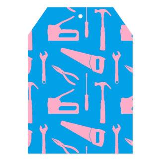 pink tools invitation