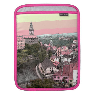 Pink Town Sleeve For iPads