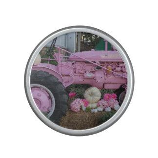 Pink Tractor Bluetooth Speaker