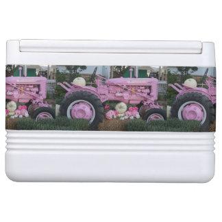 Pink Tractor Drink Cooler