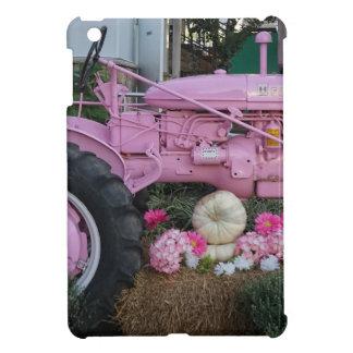 Pink Tractor iPad Mini Covers