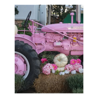 Pink Tractor Letterhead