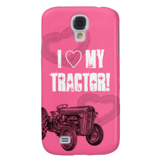 Pink Tractor Love Phone Case