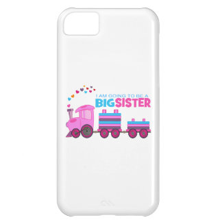 Pink Train Big Sister Case For iPhone 5C