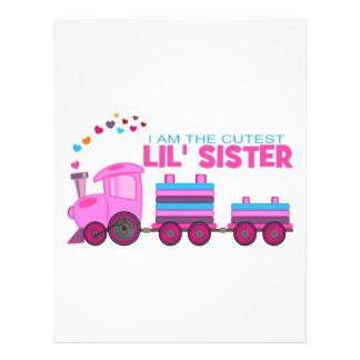 Pink Train - Lil' Sister Letterhead