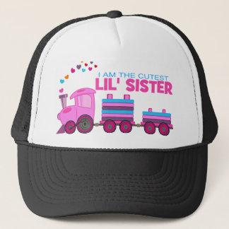 Pink Train - Lil' Sister Trucker Hat