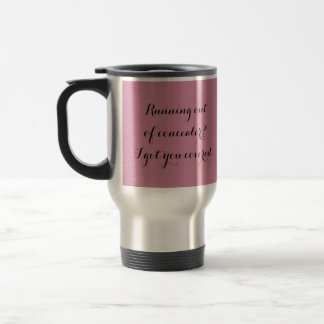 Pink Travel Mug for Mary Kay Consultants