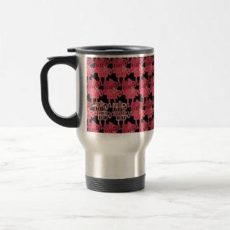 Pink Traveling ELEPHANTS Coffee Mugs