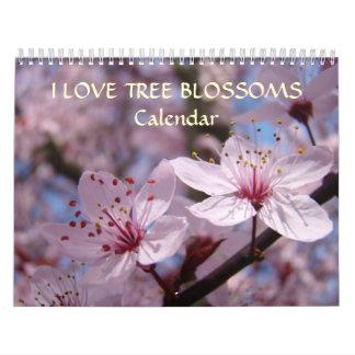 Pink Tree Blossoms Calendar White Blossoms Apple
