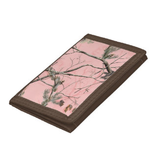 Pink Tree Camo Wallet