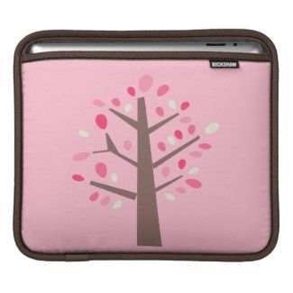 Pink Tree iPad Sleeve rickshaw_sleeve