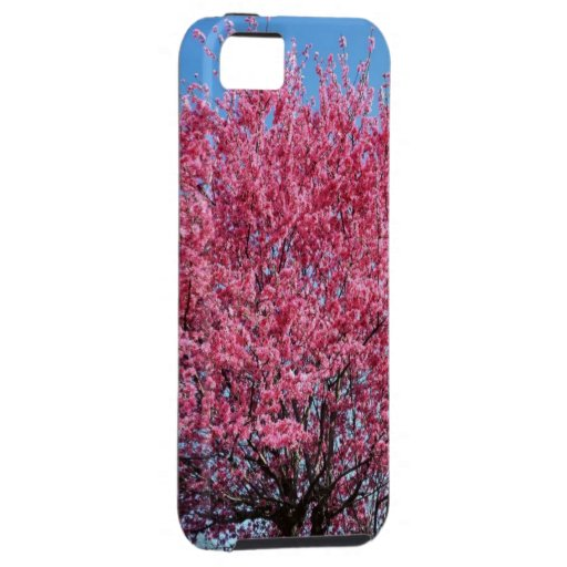 pink tree iphone5 case