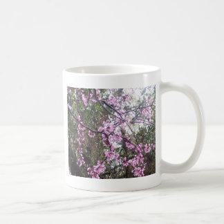 Pink Tree Lace Coffee Mug