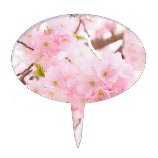 Pink Tree Sakura Cherry Blossom Cake Topper