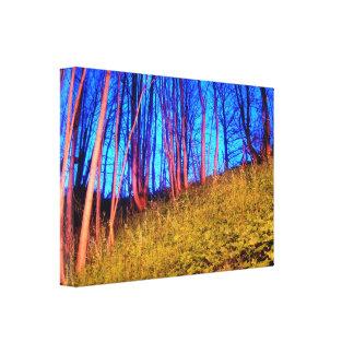 Pink Trees Canvas Prints